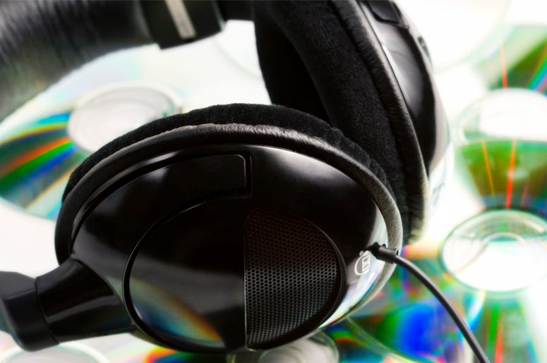 Headphones CDs