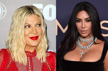 Tori Spelling & Kim Kardashian West