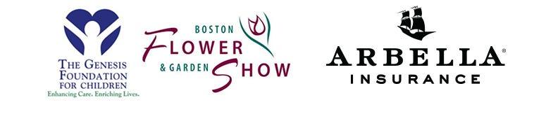 Arbella Flower Show Genesis Foundation Logos