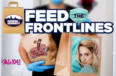 feed the frontlines meghan trainor