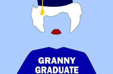 Granny graduate