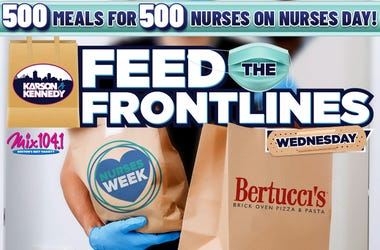 feed the frontlines nurses day