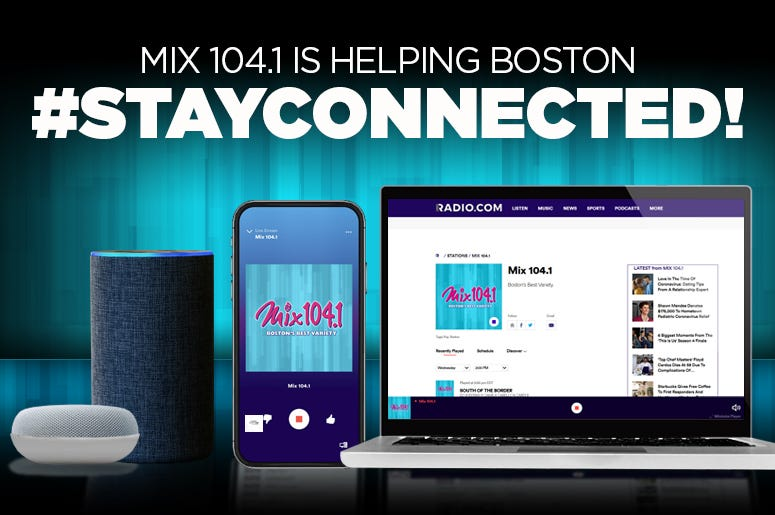 Stay Connected with Mix 104.1