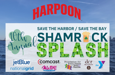 Shamrock Splash event poster with Harpoon