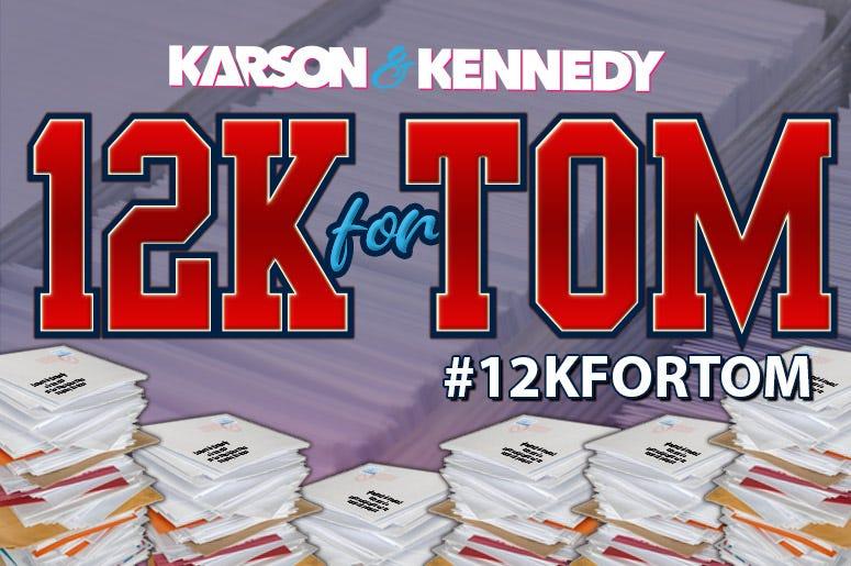 12K For Tom
