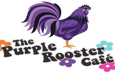 purple rooster