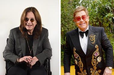 Ozzy Osbourne Elton John
