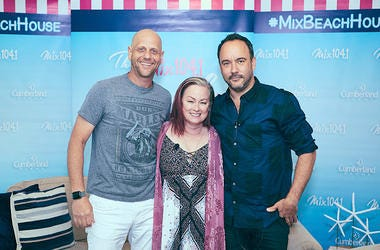 Karson & Kennedy with Dave Matthews