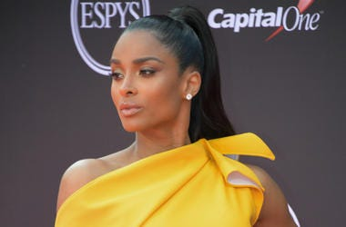 Jul 18, 2018; Los Angeles, CA, USA; American musician Ciara arrives for the 2018 ESPYS at Microsoft Theatre.