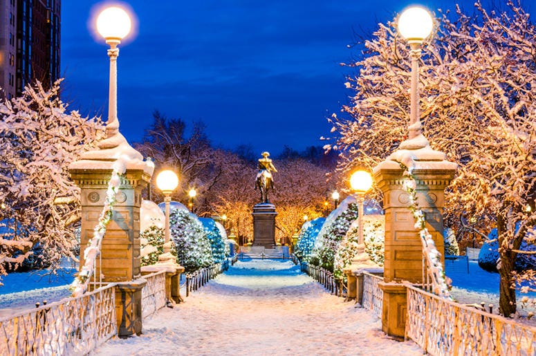Boston Common Christmas