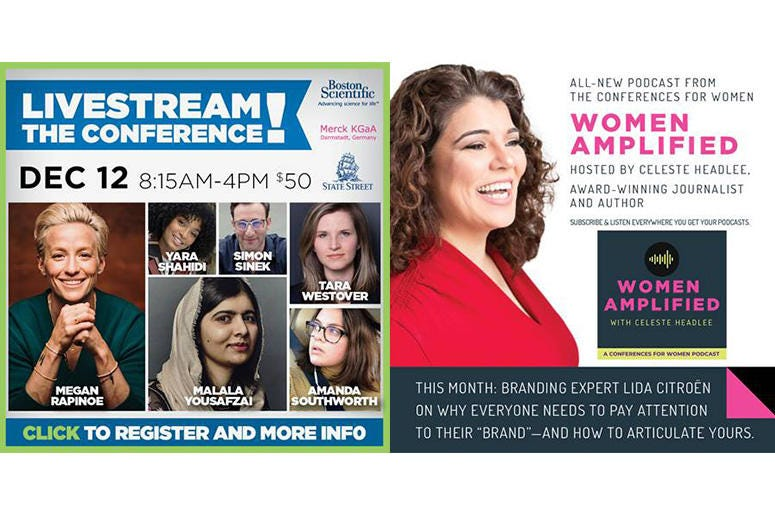 MA Conference For Women Livestream & Podcast