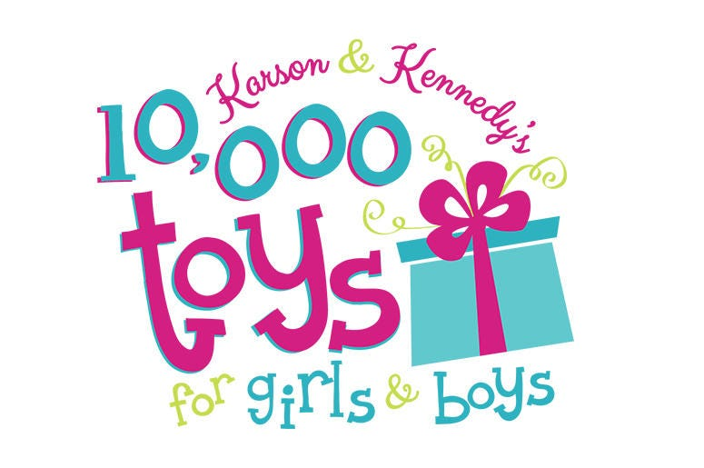 Karson & Kennedy's 10K Toys For GIrls & Boys