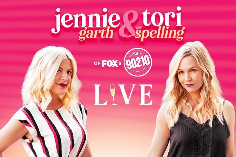 Jennie Garth & Tori Spelling