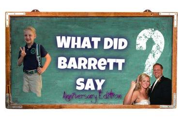 what did barrett say