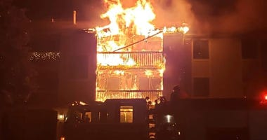 Waterford Apartment Fire