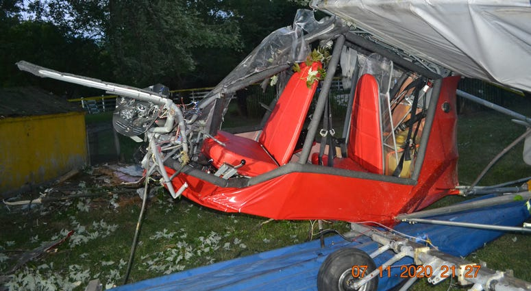 A plane crash on Grosse Ile is being investigated