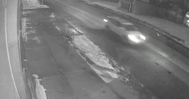 Hit-and-run suspect vehicle