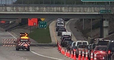696 closed at Hoover