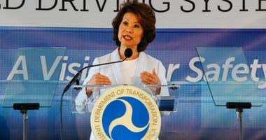 U.S. Transportation Secretary Elaine Chao