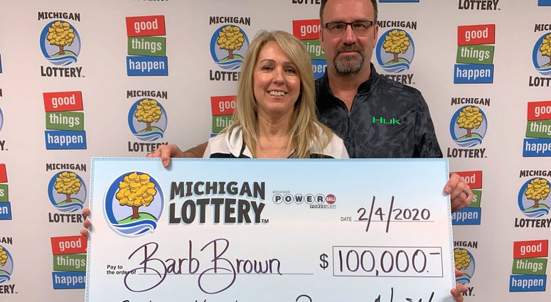 lottery winner Barb Brown