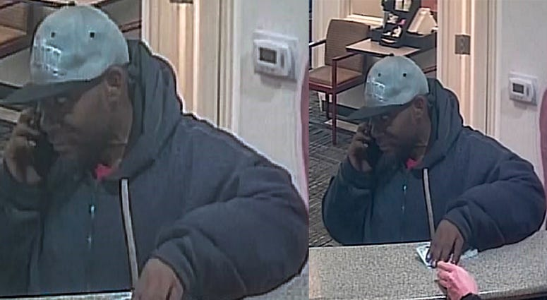 Chesterfield Twp Bank Robber