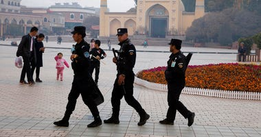 Chinese security guards