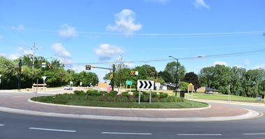 Roundabout finished in Oakland County