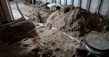 Bones Discovered Under Concrete At Former Dearborn Bar