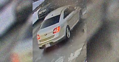 Hit-And-Run Suspect's Vehicle