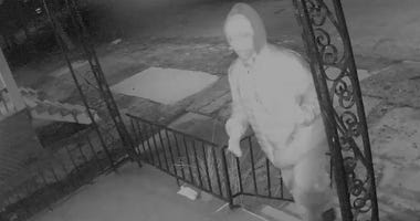 Detroit Brick Throwing Suspect