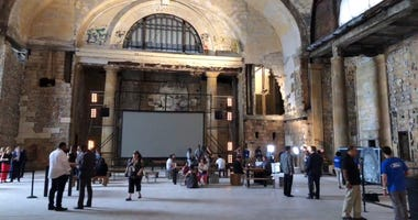 Michigan Central Station - interior