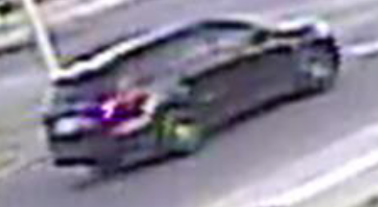 suspect vehicle - death of woman in Detroit
