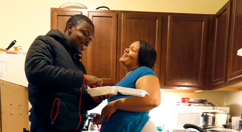 Food Stamps couple