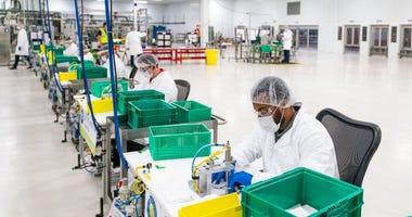 GM manufacturing masks
