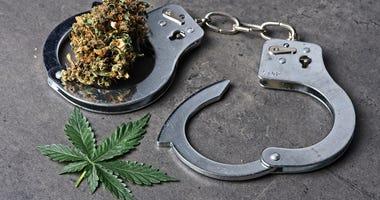 marijuana handcuffs