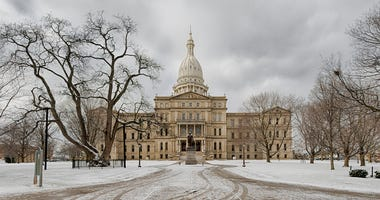 lansing in winter