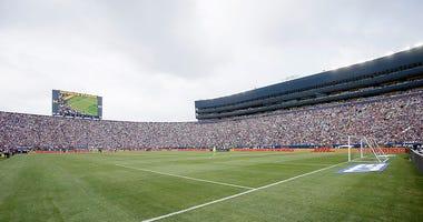 Michigan Stadium soccer