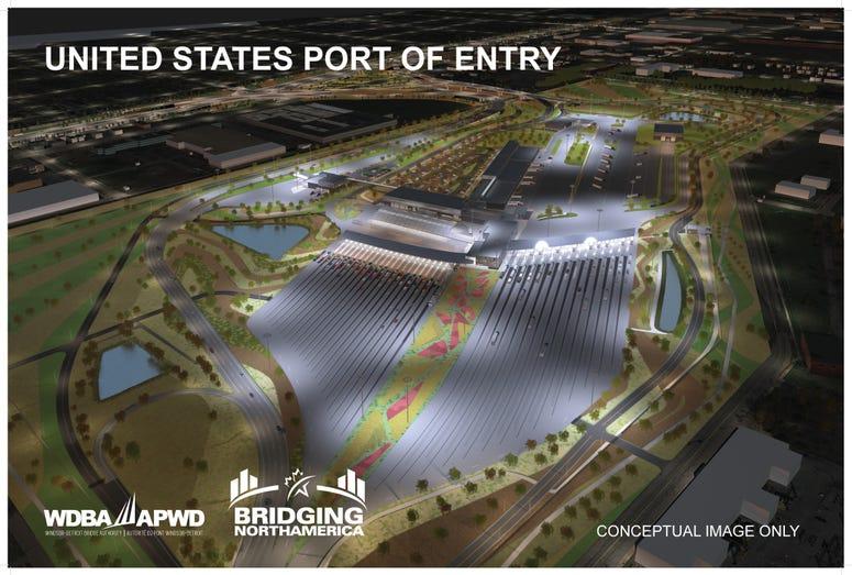 Gordie Howe International Bridge - US Port of Entry