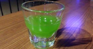 Green Ooze Shot at Max Dugan's