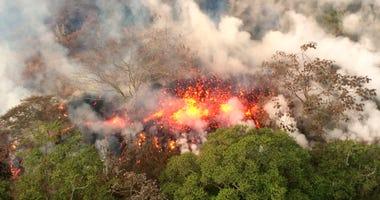 Hawaii's Kilauea volcano - AP