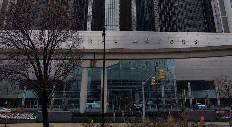 Renaissance Center Exterior Detroit