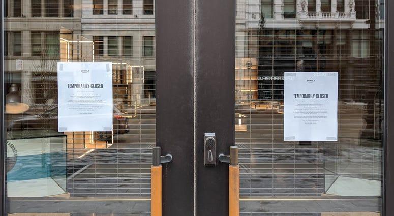 Shinola Store Closed Due To Coronavirus Covid-19