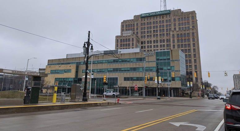 Wayne State University Welcome Center Detroit