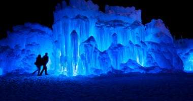 Ice Castles in North Woodstock