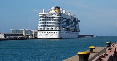 Costa Smeralda cruise ship