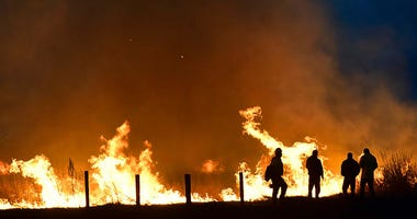 Lame Deer, Mont.fire