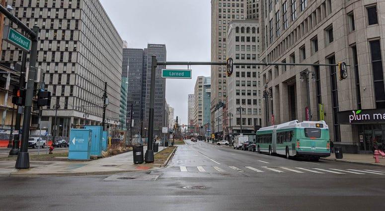 Detroit Woodward Avenue