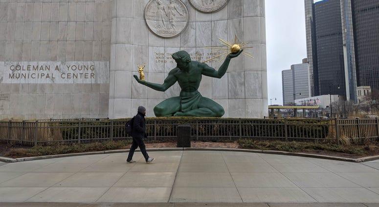 Spirit of Detroit Renaissance Center