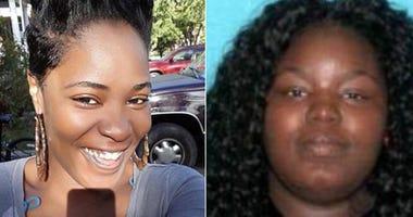Eboni Monae Mcewen-Ross, left, and Shawnta Sharee Anderson, right (