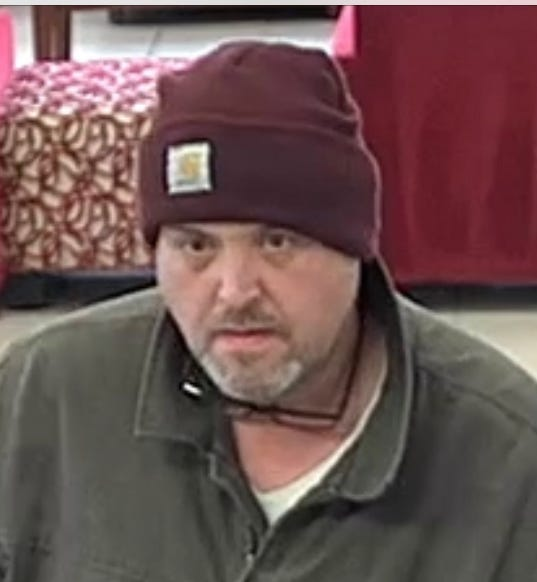 Orion Township bank robbery